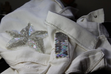 Embroidered jacket. Photography by Claire Edwards